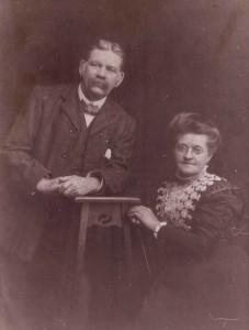 John Tranter Moore (b. 1853) & Sarah Hannah Hine (b. 1858)