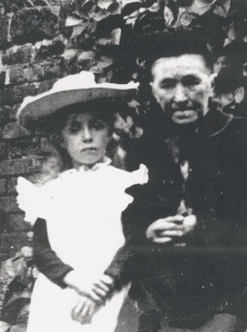Catherine Cassidy nee Coleman and her granddaughter Catherine Moore, c1900