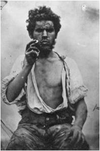 Irish labourer in the 1850s (Sean Sexton Collection)