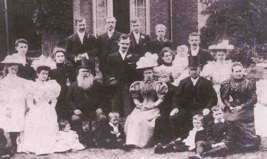Integration in action: the wedding of Bernard Corcoran and Kate Williams, Stafford, 25 June 1896 (courtesy Sally Ann Harrison).