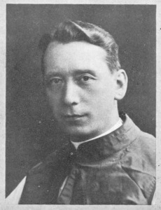 The Rt Revd Monsignor Charles Cronin in the 1900s