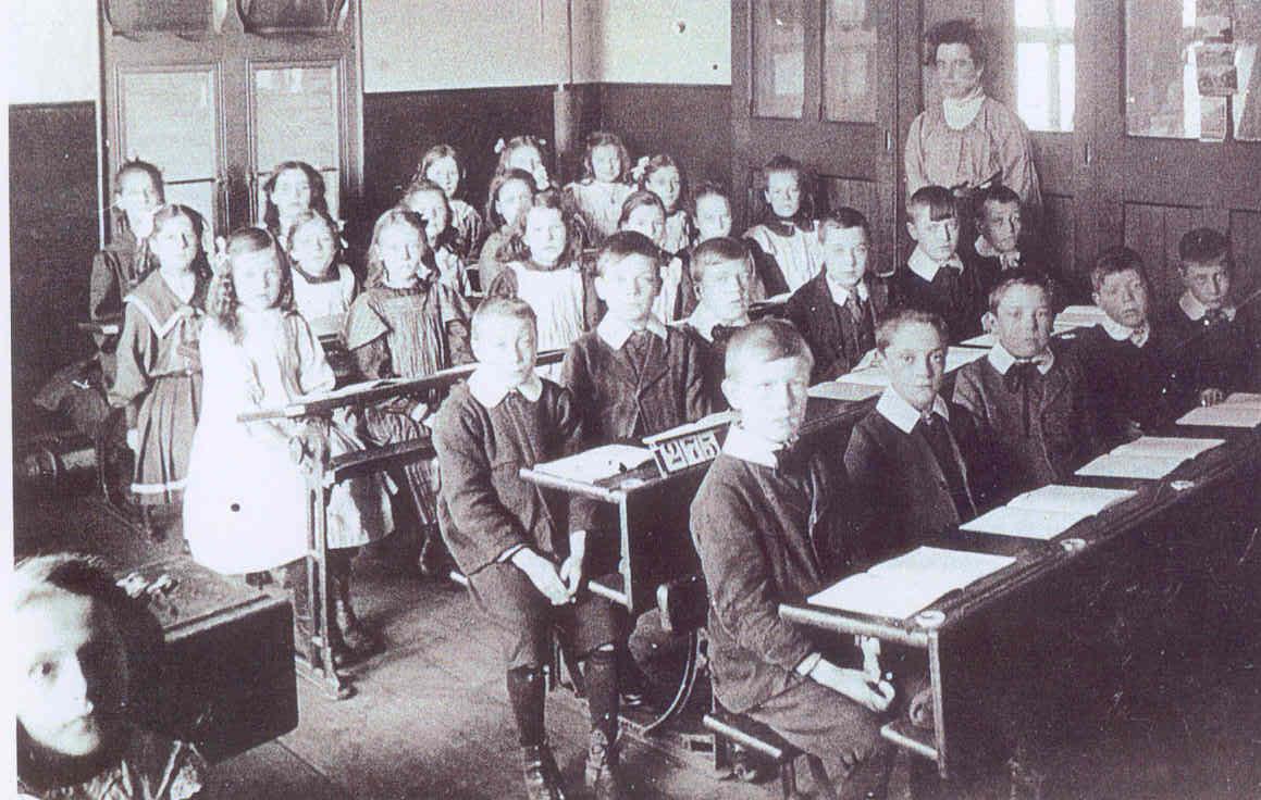 St Pats School Class