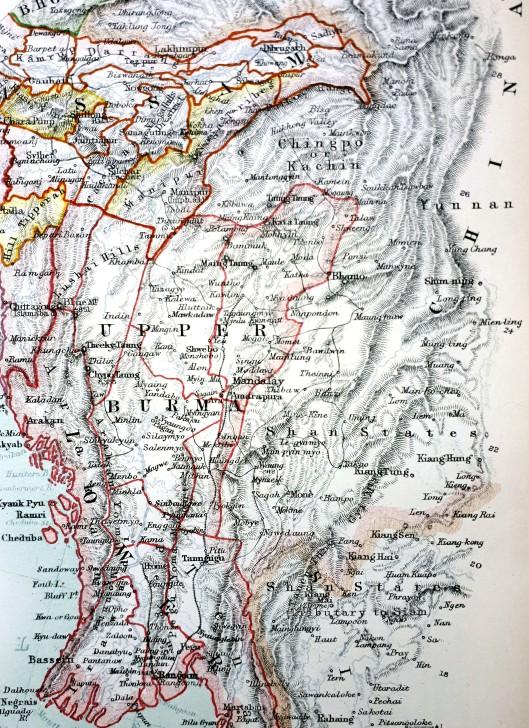 Blog - Martin Concar Burma map contrast