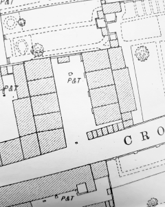 Plant's Square in 1881 from the OS 1:500 plan.